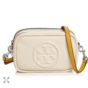 Tory Burch Perry Bombe Mini Leather Cross Body